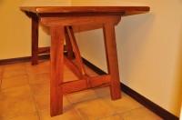 tavolo in leccio